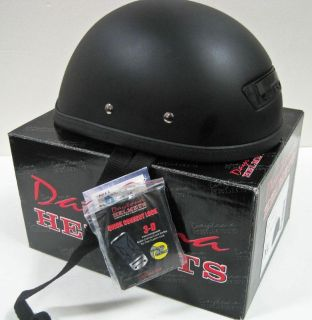Purchase Novelty motorcycle helmet quick open Vented flat black Medium eagle II motorcycle in Canyon Country, California, US, for US $20.00