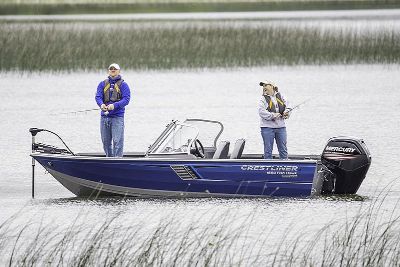 2018 Crestliner 1650 Fish Hawk WT Jon Boats Kaukauna, WI