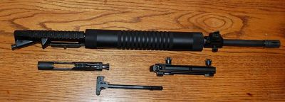 $550, Custom 20 AR15 complete upper receiver.