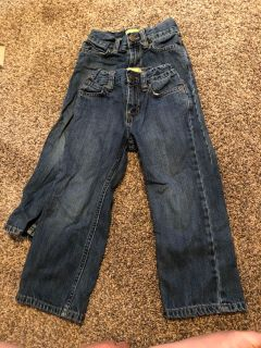4T old navy straight boot jeans