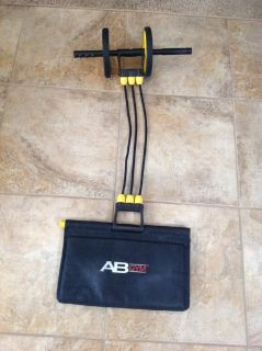 Exercise roller, complete ab gym