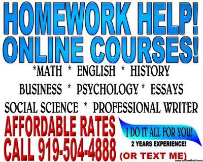 HOMEWORK HELP AND TESTS AND ESSAY FOR STUDENTS ONLINE COURSE