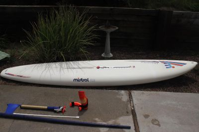Mistral Competition TCS Sailboard Complete Rigging