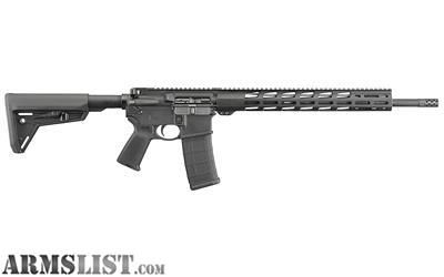 For Sale: Ruger AR556 MPR 5.56 New in Box