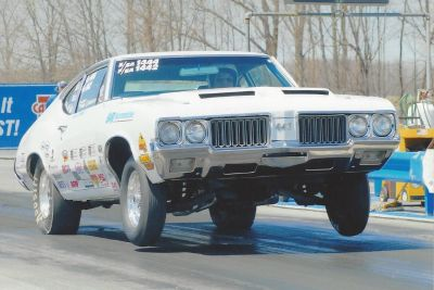 1970 Olds post car