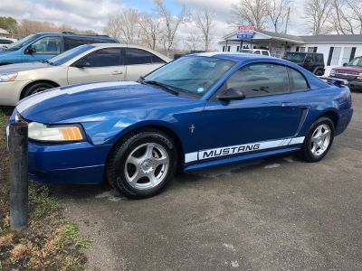 2003 Ford Mustang Base (Blue)
