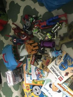 Toys & Books For Sale