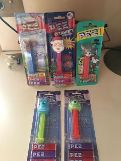 New in package PEZ dispensers w/candy