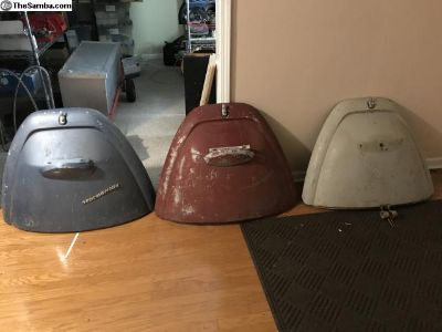 Three 67 only engine lids. $85 each