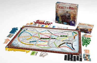 Ticket to Ride Board Game by Days of Wonder