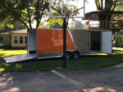 2014 Stealth 24 ft Enclosed Trailer Finished Interior