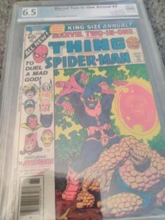 Marvel Two-In-One Annual #2 (1977) PGX graded