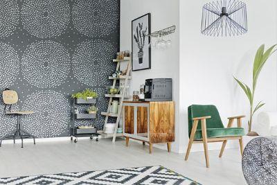 Kaleidoscope wall stencil ,Decorative wall stencil