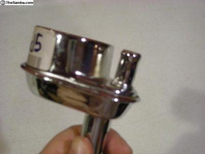 Chrome Oil Filler Breather New