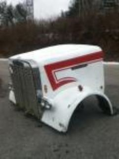 Find Freightliner FLC120 Hood Complete w/Headlights and grille motorcycle in Toledo, Ohio, US, for US $2,995.00