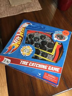 Tire Catching Game