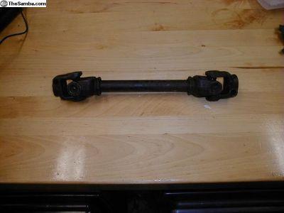 Super Beetle Steering U Joint Shaft Good Used