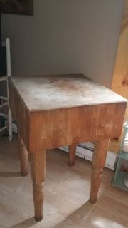 1970's Boos Butcher Block