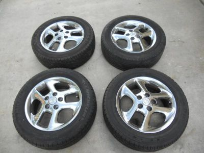 "Buy Lexus ES 300 Toyota Camry Solara Salora OEM 16 16"" Inch Chrome Wheels Rims motorcycle in Fountain Valley, California, US, for US $350.00"