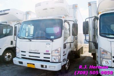 2013 Isuzu NPR 16ft Refrigerated Straight Truck
