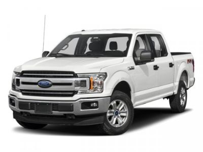 2018 Ford F-150 (White Platinum)