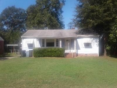 3 Bed 1 Bath Preforeclosure Property in Augusta, GA 30906 - Coleman Ave