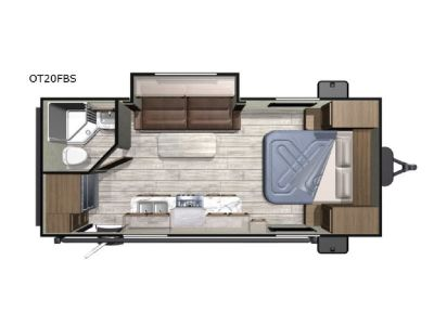 New 2019 Highland Ridge RV Open Range Conventional OT20FBS