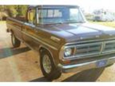 1972 Ford F250 Camper Special