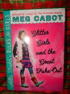NWT MEG CABOT'S GLITTER GIRLS AND THE GREAT FAKE OUT