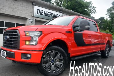 2016 Ford F-150 4WD SuperCrew Sport (Race Red)