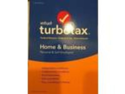 Brand new sealed 2016 Intuit Turbotax Home and Business