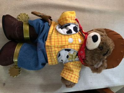 Build a bear workshop Bearemy bear dressed as Woody from Toy Story