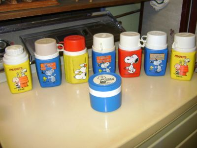 Snoopy Plastic Thermoses
