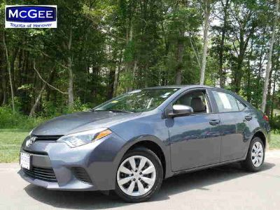 Used 2014 Toyota Corolla 4dr Sdn CVT