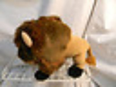 Plush Standing Buffalo from the Wishpets Classics Collection--NEW