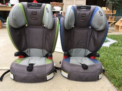 Britax Booster Seat with Detachable Back