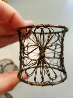 4 napkin rings from pier one
