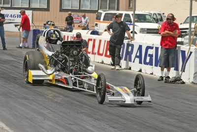 Blown Alcohol Front engine Dragster