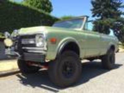 1972 Chevrolet Blazer K5 Green