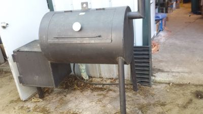 solid steel smoker