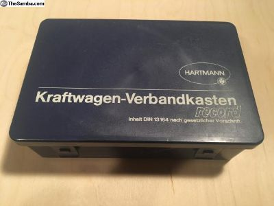 Hartmann KraftWagen-Verbandkasten First Aid Kit