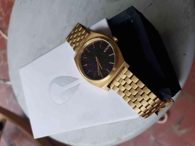 "Nixon 24k gold plated Sacred Geometry ""Time Tellers"" Edition"