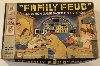 Vintage 1978 Family Feud Board Game, original version complete in box!
