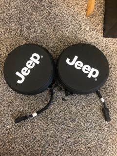 Jeep fog lamps. Never used