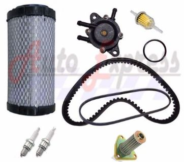 Find EZGO TXT ST350 Gas Golf Cart Tune Up Kit 96-up Fuel Pump Drive Starter Belt motorcycle in Lapeer, Michigan, United States, for US $78.65