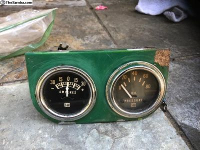 Cool Vintage S&W Gauges/with panel
