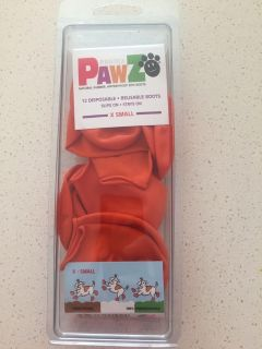 Paw covers $5 size x small (11 in pack)