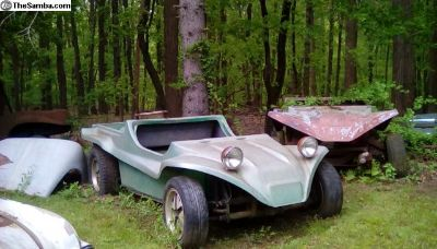 1962 Dune Buggy Full Length Rare Pick Up Rolling