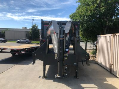 """2018 MAXXD TRAILERS 25' X 102"""" GN FLATBED WITH DUALS Trailer Trailers Elk Grove, CA"""