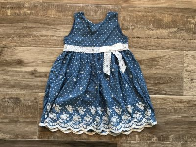 4T Blueberi Boulevard denim dress